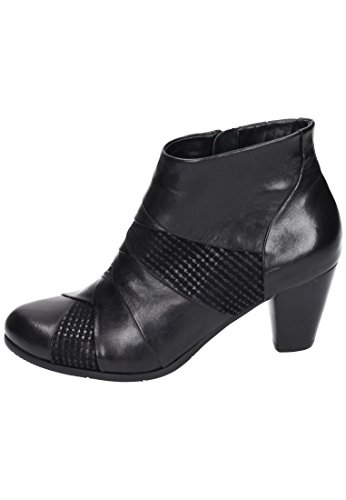 Damen Botas Mujer Piazza Negro De Piel Stiefelette Para PqxxdE6w