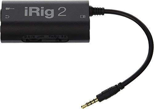 IK Multimedia iRig 2 guitar interface for iPhone and Android 1