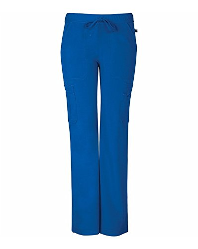 Sapphire Scrubs™ Women's Vienna Mid Rise Straight Leg Pant X-Large Royal