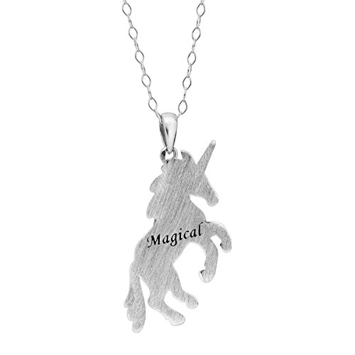 148ef47b5e9d1 Crystaluxe Magical Unicorn Pendant Necklace with Swarovski Crystals ...