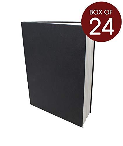 Artway Studio - Skizzenbücher mit festem Einband - 170 g m² Papier - Großhandelspackung - 195 mm (Quadrat-Format) - 24 Stück  24 x A4