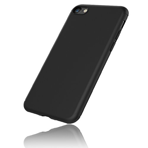EasyAcc iPhone 7 Case, iPhone 7 Black TPU Phone Case Cover Matte...