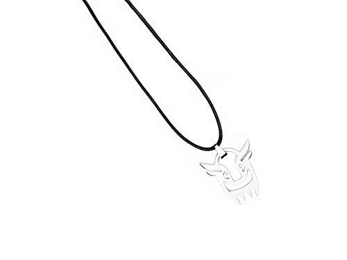Fanstown Kpop EXO Necklace Logo Official Same Style Merchandise Diamond Necklace Accessories Necklace (Baekhyun Necklace)