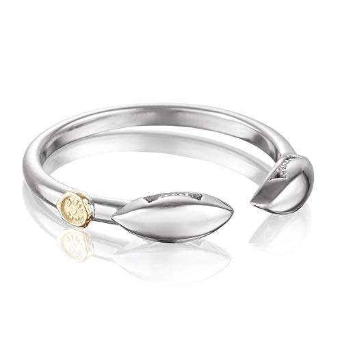Tacori SR201 Sterling Silver Ivy Lane Marquise Ring, Size 6.5 ()