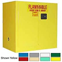 36x24x35 30 Gallon, Manual Close, Flammable Cabinet Md Green