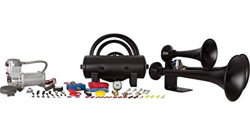 HornBlasters Black Outlaw HK-C3B-232 Train Horn Kit