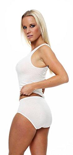 Mujer Camiseta sin brazo, axilas de Top micromodal, camiseta de schöller, colores Champán o negro, tamaños 38–�?0 Beige