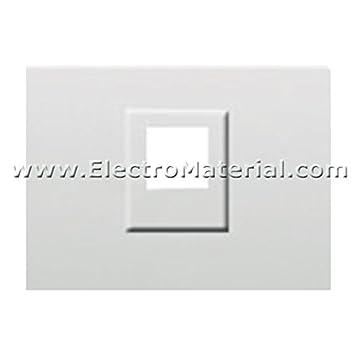 Bjc - 21795 tapa toma telef. rj11 y conector rj45 coral blanco Ref. 6530510246: Amazon.es: Bricolaje y herramientas
