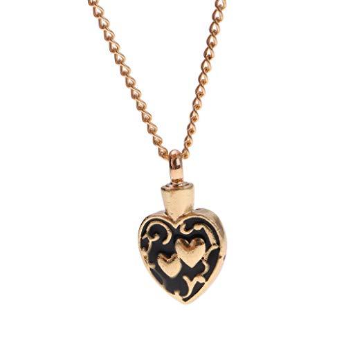 Love Heart Urn Openable Flower Pendant Chain Necklace Memorial Keepsake Necklace Jewelry Crafting Key Chain Bracelet Pendants Accessories Best