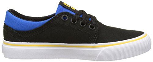 DC Shoes ADBS300251, Zapatillas Niños Multicolor (Black/Blue/Grey)