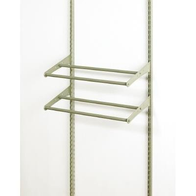 Superieur ClosetMaid ShelfTrack 24 In.   42 In. Expandable Shoe Shelf Kit