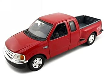 Ford F Cast Model Truck   Red Cast Car By Motormax