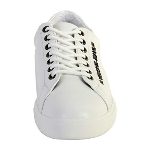 Linea Basket Dis Blanc Jeans 2 Mode YSBSH2003 Versace Brad Fondo qR76tw