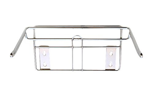 KC Store Fixtures 06133 T-Shirt Bag Holder, Wall Mount, Chrome