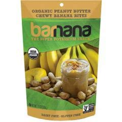 Barnana - Organic Chewy Peanut Butter Banana Bites (12-3.5 oz bags) - This product is called the Elvis