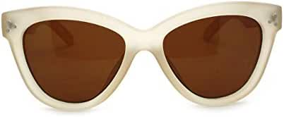 Womens Retro High Point Horn Rim Wayfarer Sunglasses