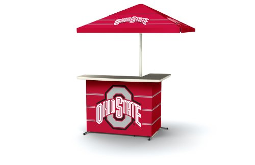 Ncaa Patio Cooler (Best of Times Collegiate Patio Bar and Tailgating Center, Standard Package, Ohio State)