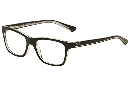 Ray Ban Junior RY1536 Eyeglasses-3529 Top Black On ()