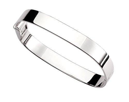 Bracelet Jonc en argent sterling 925Large Uni