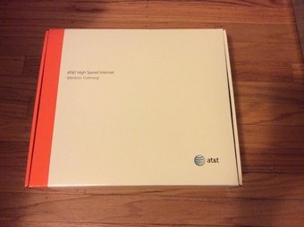 AT&T Netgear DSL Gateway Modem Model 7550
