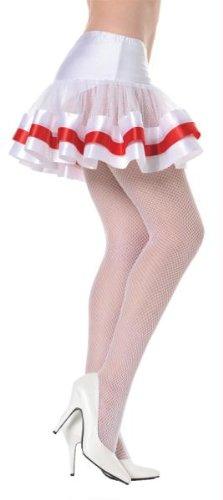 Underwraps Costumes  Women's Sexy Petticoat, White/Red, One Size - White Tutu Costume Ideas