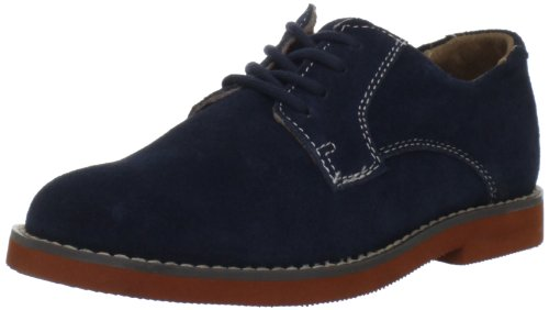 Florsheim Kids Kearny JR Oxford (Toddler/Little Kid/Big Kid),Navy Suede,1 M US Little - Suede Oxfords Lightweight
