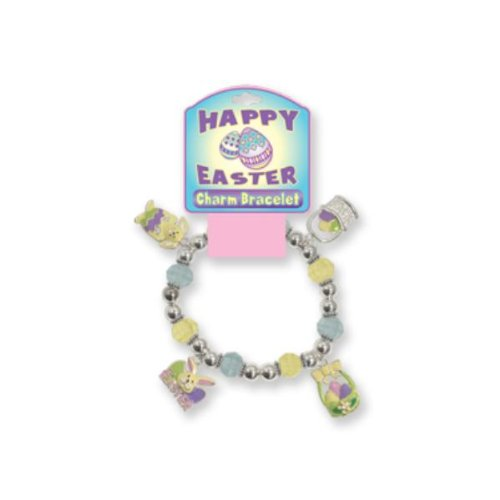 Easter Charm Bracelet - Stretch