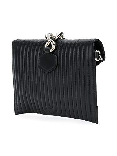 A843780021555 Femme Pochette Noir MOSCHINO Cuir 651aww