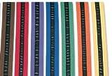 Black Striped Rank Karate Martial Arts and TaeKwonDo Belts