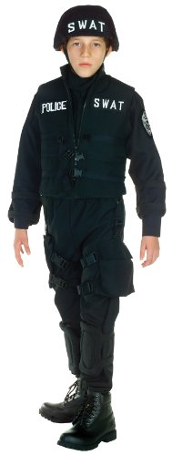 [Underwraps Swat Costume, Large] (Swat Costumes Kid)