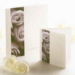 Rose Buds Wedding Stationery Set 10 Stuck Luxuriose Buroartikel
