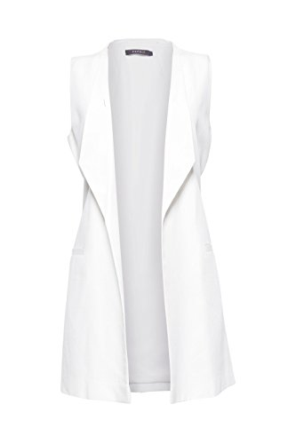 White Donna Collection Gilet 110 Bianco off Esprit ZH7OnXqwxx