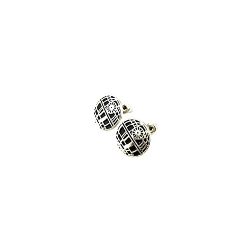 Athena Star Wars Death Star Logo Superhero Comics Cartoon Post Stud Earrings In Gift Box
