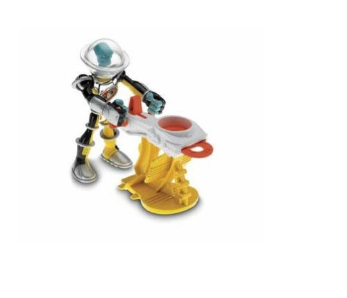 Fisher-Price Planet Heroes Saturn Metallic Figure