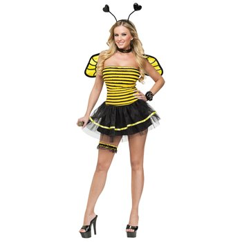 FunWorld Busy Bee, Black/Yellow, Small/Medium 2-8