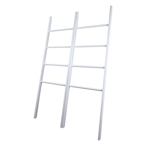 Casual Home 117-21 Decorative Twin Ladders, White