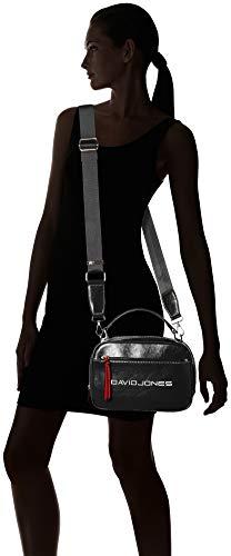 Bandolera Negro black Cm5085 Bolsos Jones David Mujer YXFtq0Hw