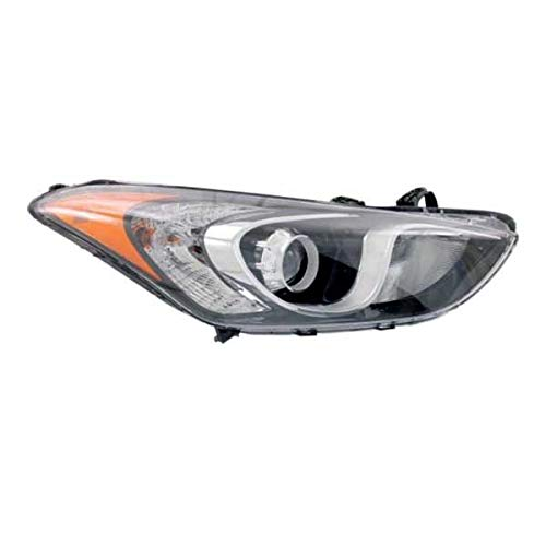 Koolzap For 13-17 Elantra GT Front Headlight Headlamp Halogen Head Light Lamp Right Side ()