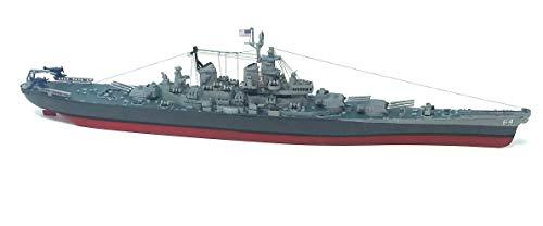 USS Wisconsin BB-64 Model Kit Big Battleship 1/535 - Model Battleship