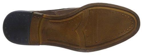 FRETZ men George, Zapatos de Cordones Derby para Hombre marrón (Caramel)