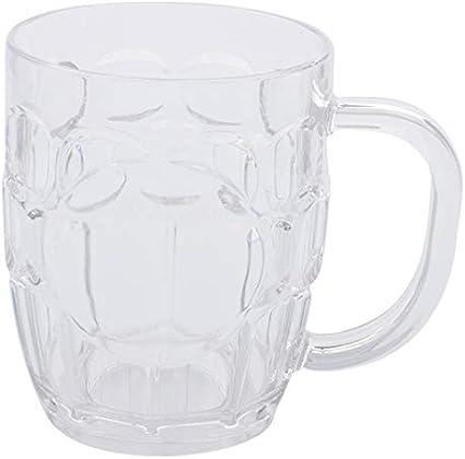 Vaso De Cerveza, Vaso De Bebida, Vaso De Bebida De Barra, Apto Para Hostelería, 500 Ml
