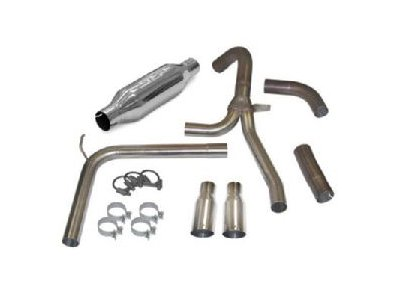 SLP Performance Parts 31043A Loud Mouth II Cat Back Exhaust - Slp Cat