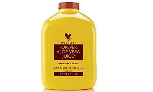 Forever Living Aloe Vera Juice 33,8 oz, con sabor a Lima Limn 5 Bottles