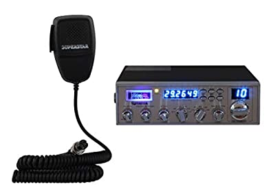 Superstar SS-158EDX 25 Watt AM/FM/USB/LSB/CW 10 Meter Mobile Amateur Transceiver