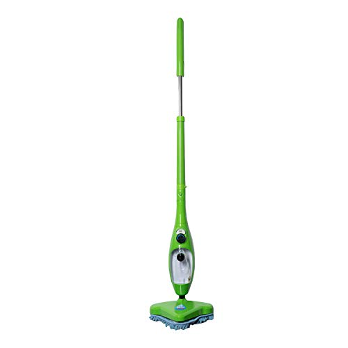 H2O Mop X5 Elite 5 in 1 Steam Cleaner Hand-Held System for Home Use, with 8 Cleaning Add-Ons