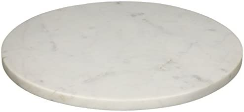 Creative Co Op Da6159 Marble Cheese Cutting Board Large White Kitchen Dining