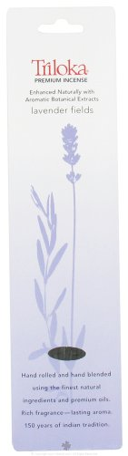 Lavender Fields - Triloka Premium Incense Sticks