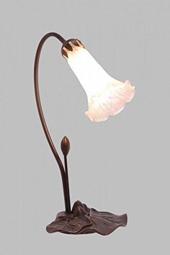 Luxus Pur UG Lámpara de Mesa Tiffany Estilo Campánula Mesilla ...