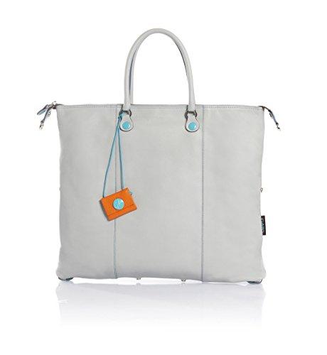 Donna Shopper Borsa Gabs Pelle Cm L grigio Chiaro Tg In 43×37 5OqxqwdF