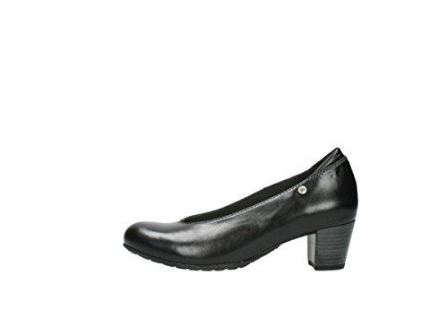 Comodidad Black nbsp;rumba De 30000 Corte 03753 Zapatos Wolky Leather qxO0x